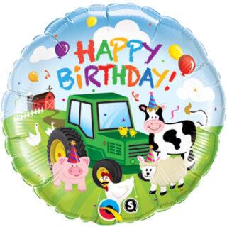 barnyard animals balloon