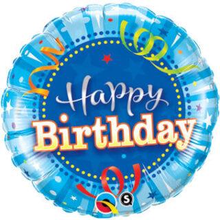 confetti birthday balloon