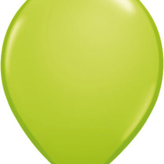 lime green balloon