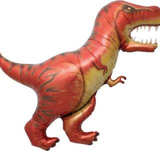 red t-rex balloon