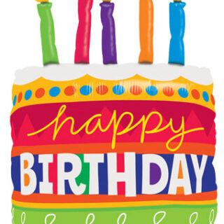 birthday cake balloon