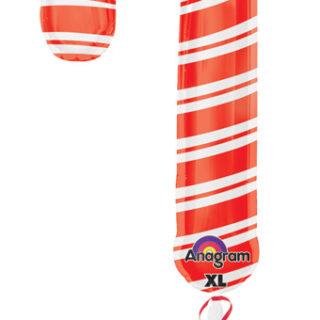 candy cane balloon