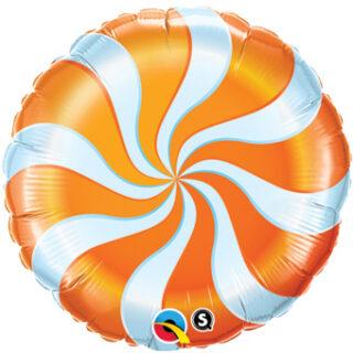 orange candy balloon