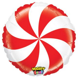 peppermint candy balloon